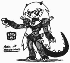 [Lexamus-Prime] Ada by Kainsword-Kaijin