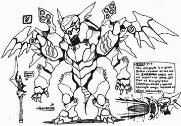 [SHADOW] Gargoyle by Kainsword-Kaijin