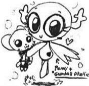 Penny with Gumball-Toy^w^