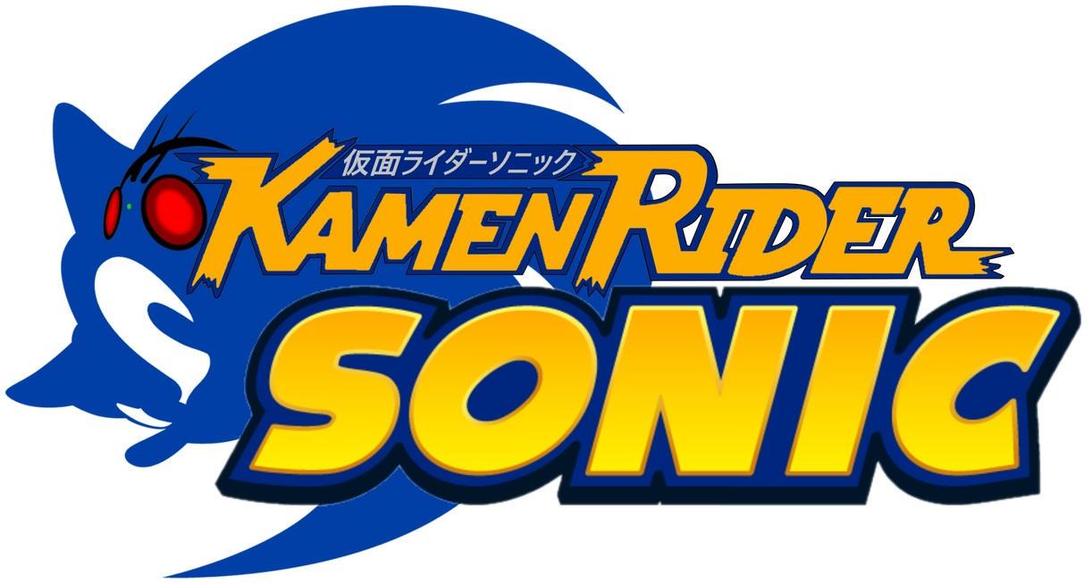Kamen-Rider Sonic Official Logo