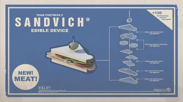 The Heavy's Sandvich by Benji-Ross