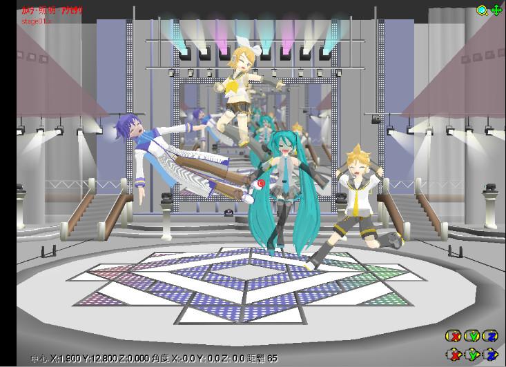 Ghostloids-Miku,Rin,Len,Kaito by TenienteSumimi