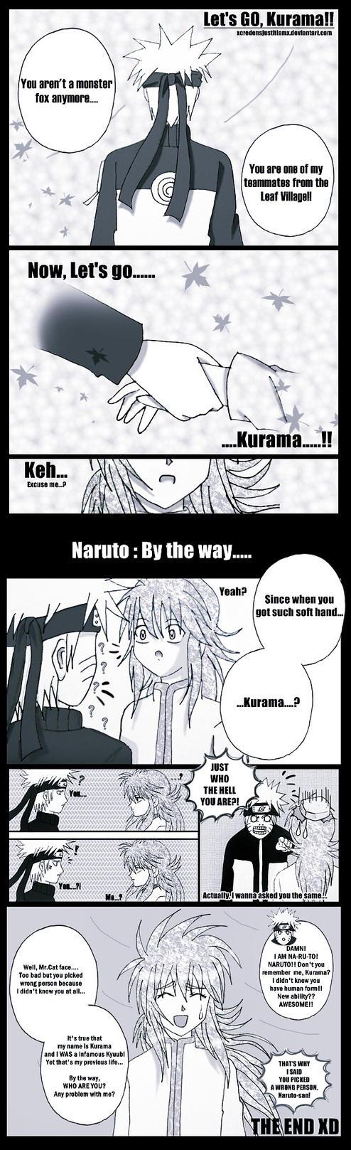 NARUTO 570 : Kurama by xcredensjustitiamx
