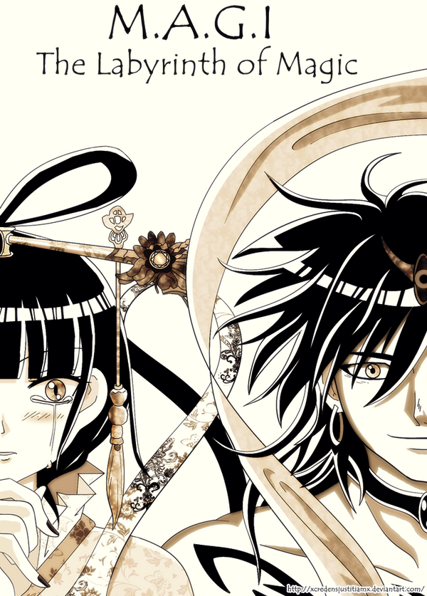 MAGI : Kougyoku and Sinbad by xcredensjustitiamx