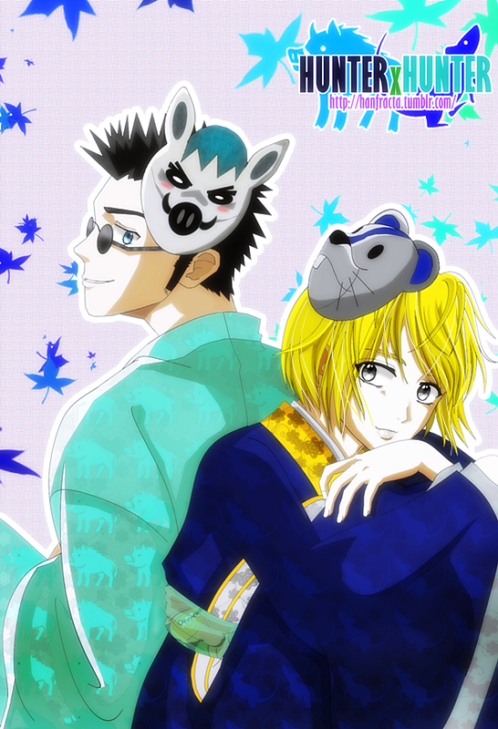 HxH : Leorio and Kurapika by xcredensjustitiamx
