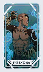 AATR Tarot Card: Luka by Magistelle