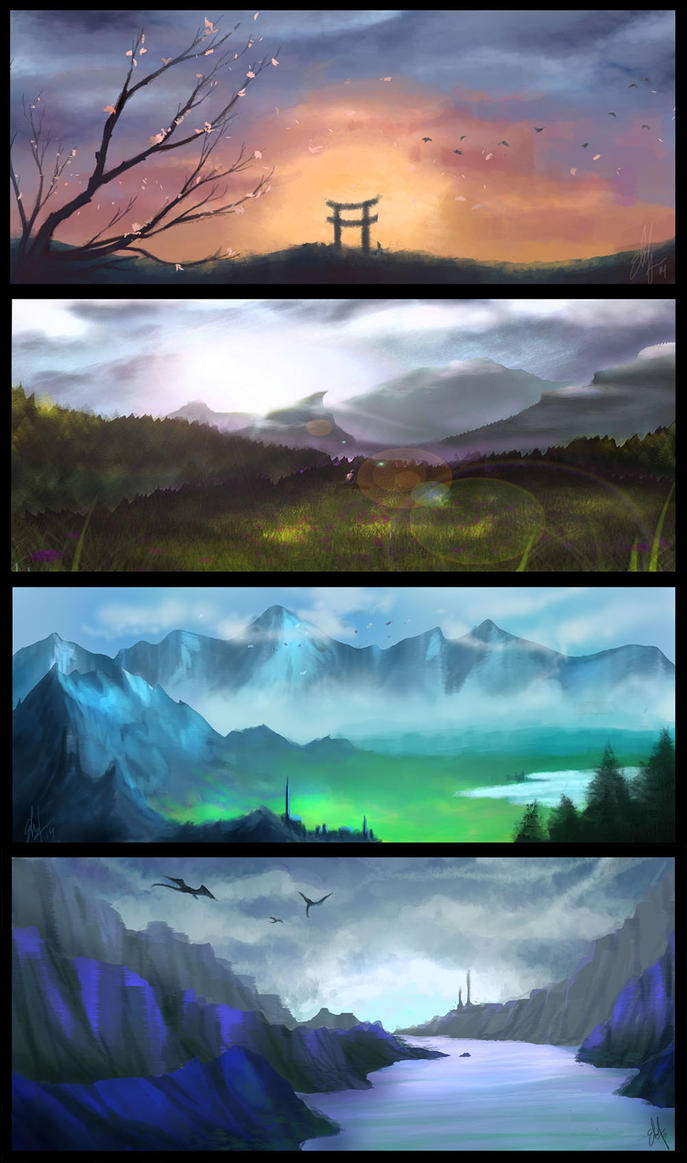 Landscapes by eCupcakes
