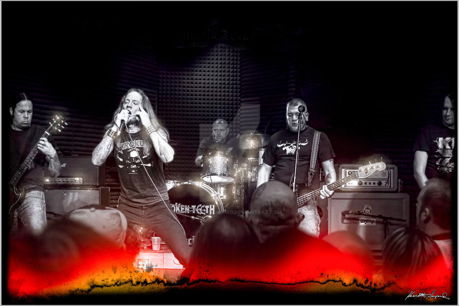 Broken Teeth Live and on Fire by KennethSanford