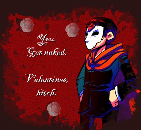 Masked Man Valentine by NephilV
