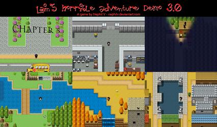 Lain's Horrible Adventure Preview