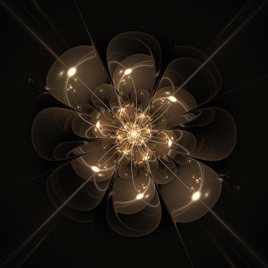 Flower of light by appareance on deviantart for Light up flower lamp