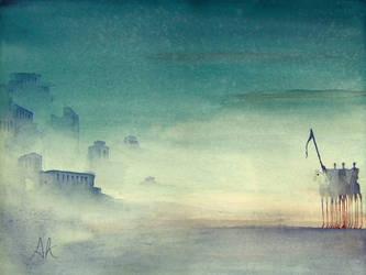 The Horsemen at Dawn by annakaim