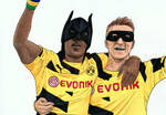 Work in Progress: BVB players Auba and Reus
