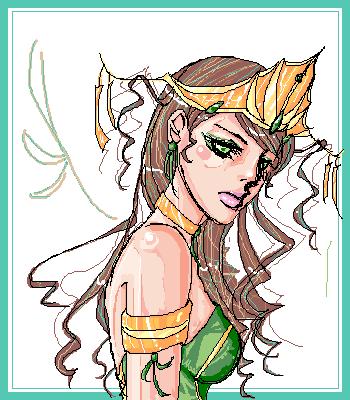 + Queen of Envy + by mariehchan