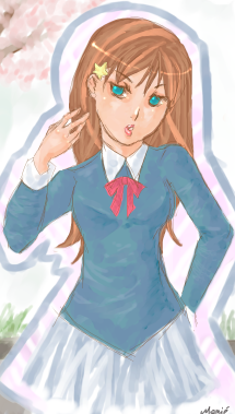 Sakura by mariehchan