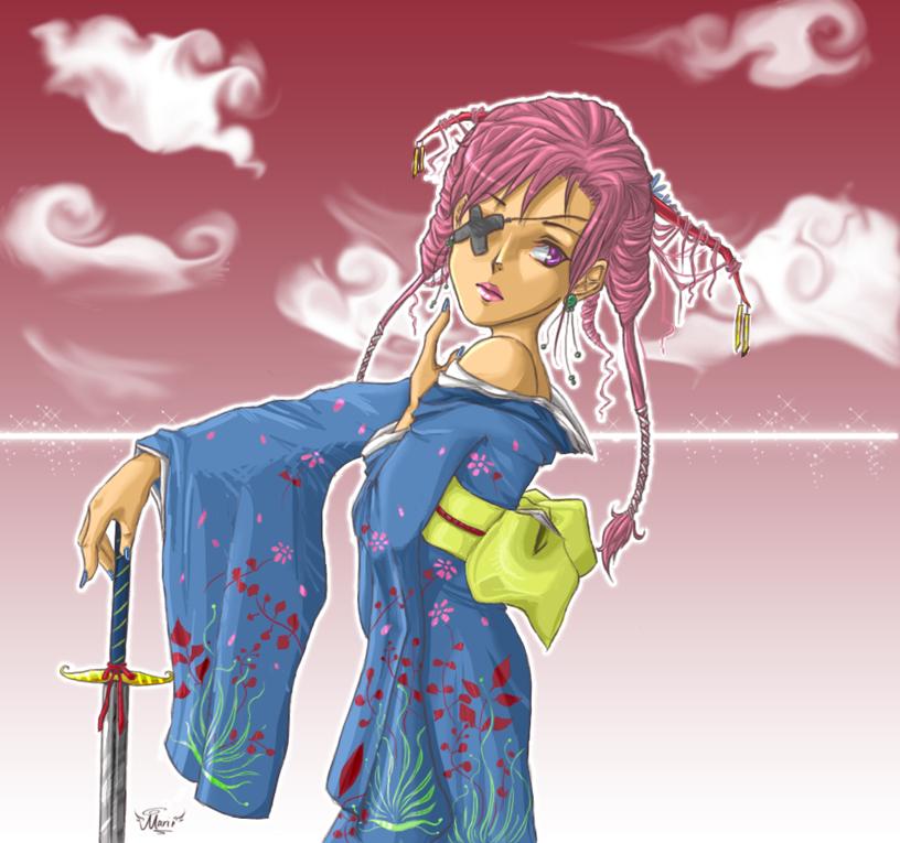 + Kimono + by mariehchan