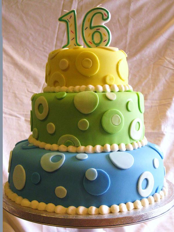 16th Birthday Cake By Phoenixoven On Deviantart