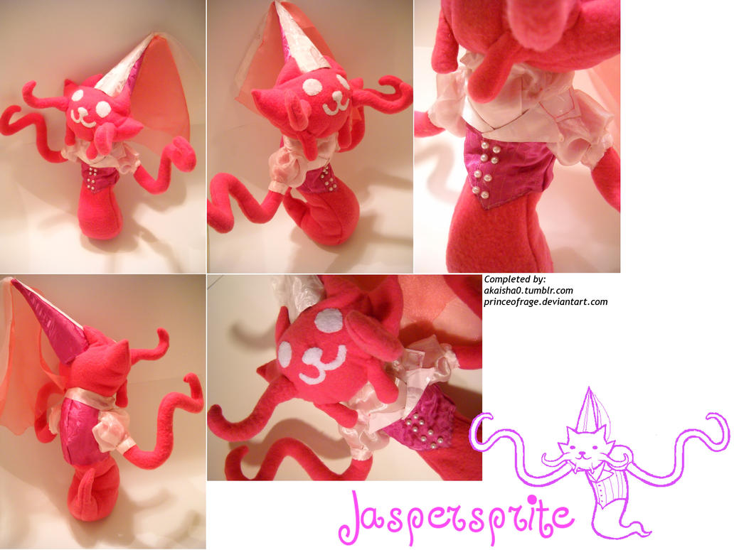 Jaspersprite Plush by PrinceOfRage