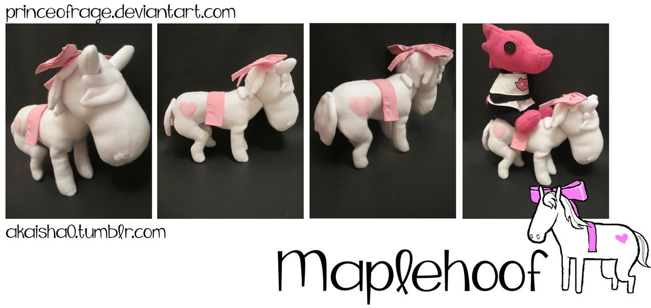 Maplehoof Plush by PrinceOfRage