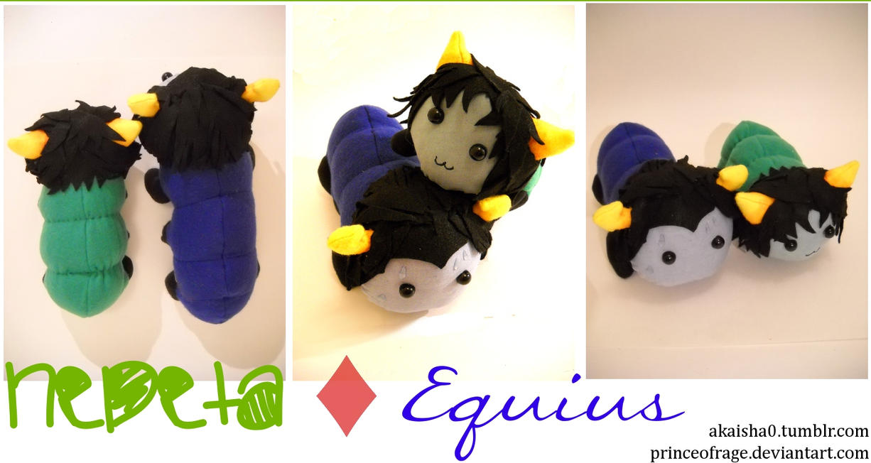 Nepeta and Equius Grubs by PrinceOfRage