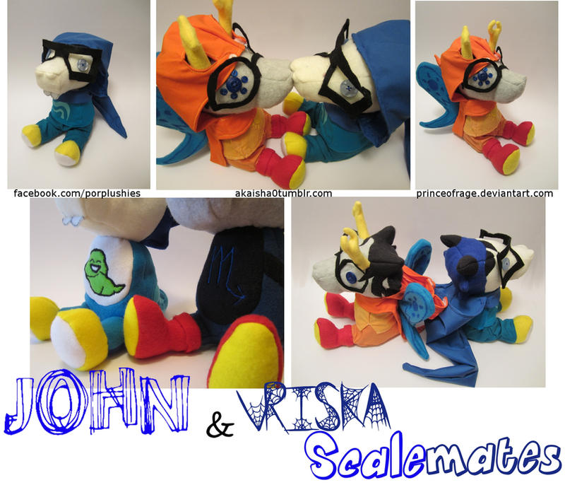 John and Vriska Scalemate by PrinceOfRage