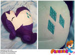 Rarity Heart Pillow