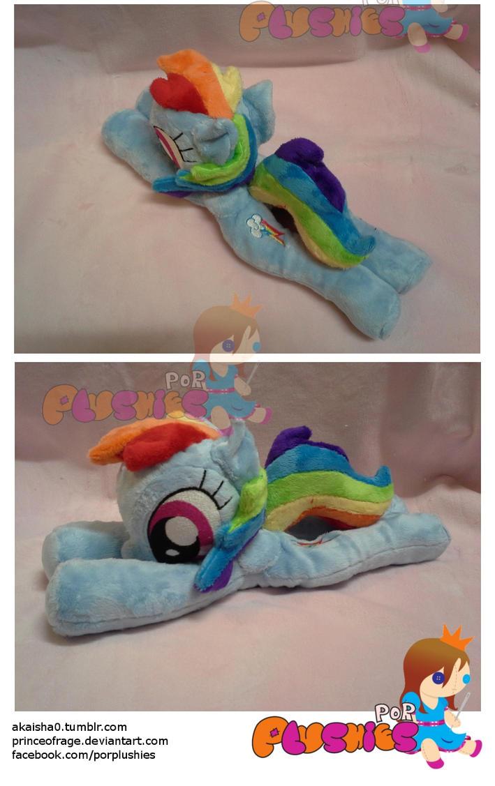 Rainbow  Dash Beanie/Floppy by PrinceOfRage
