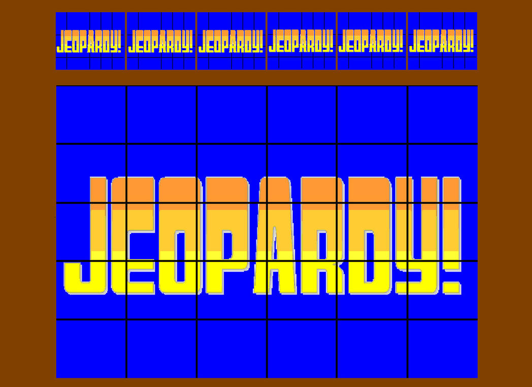 Jeopardy board opening by bka chief on deviantart jeopardy board opening by bka chief alramifo Choice Image