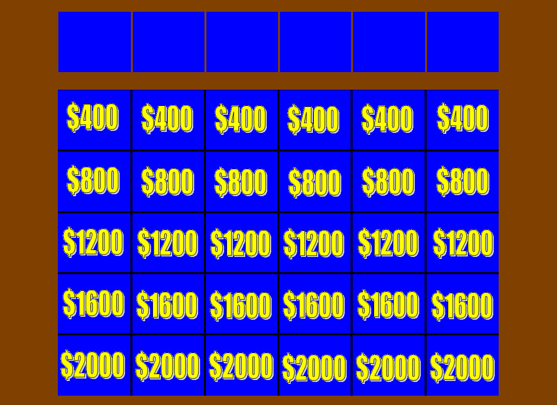 jepordy template - jeopardy board r2 template by bka chief on deviantart