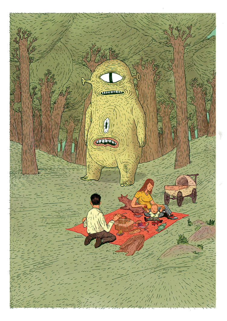 Monster 2 by burnay