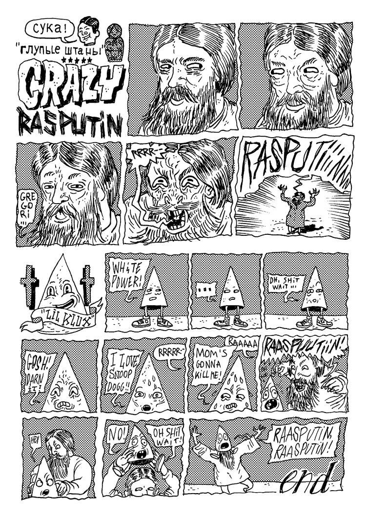 Rasputin and Lil Klux by burnay