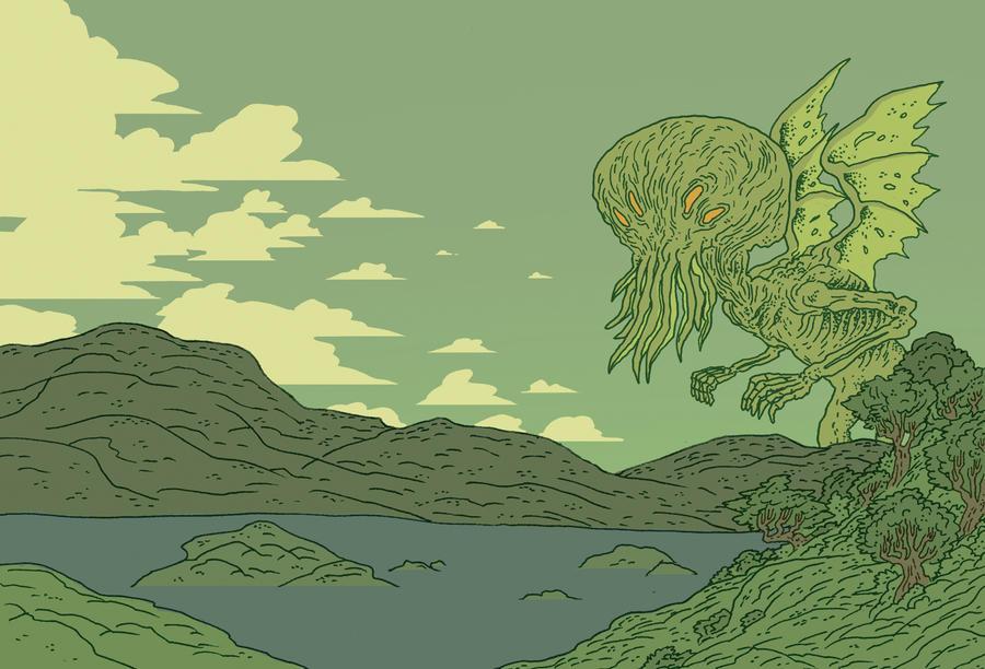 Cthulhu Rises by burnay