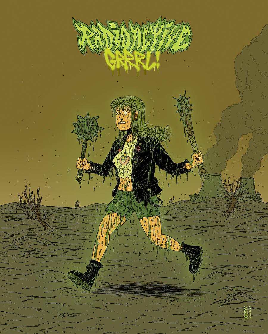 Radioactive Grrrl by burnay