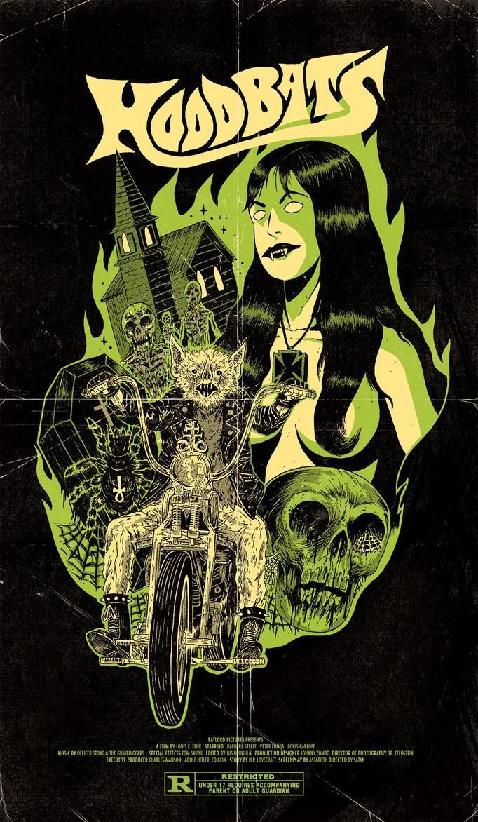 Biker Bat II by burnay