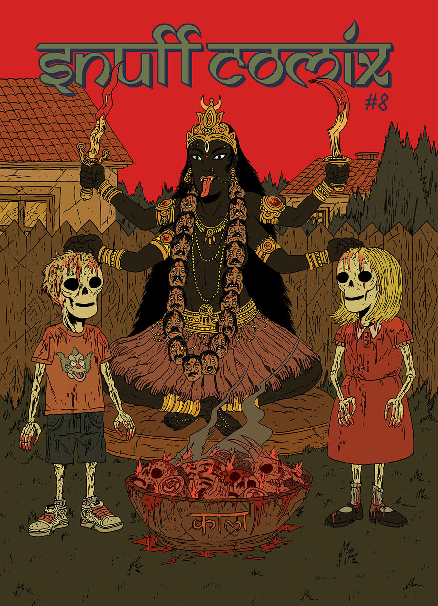 Junior death cult of Kali Ma by burnay