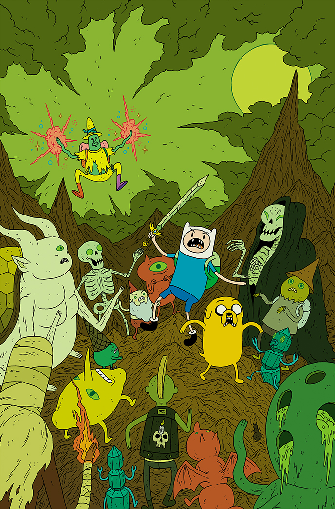 Adventure time #38 by burnay