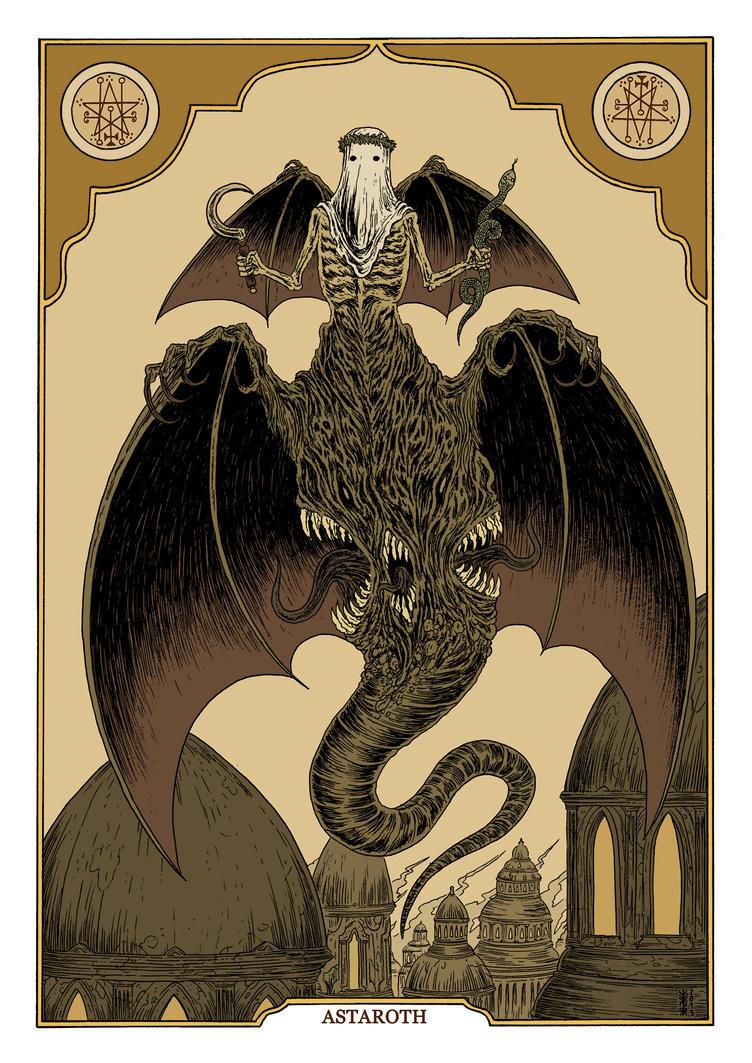 Astaroth by burnay