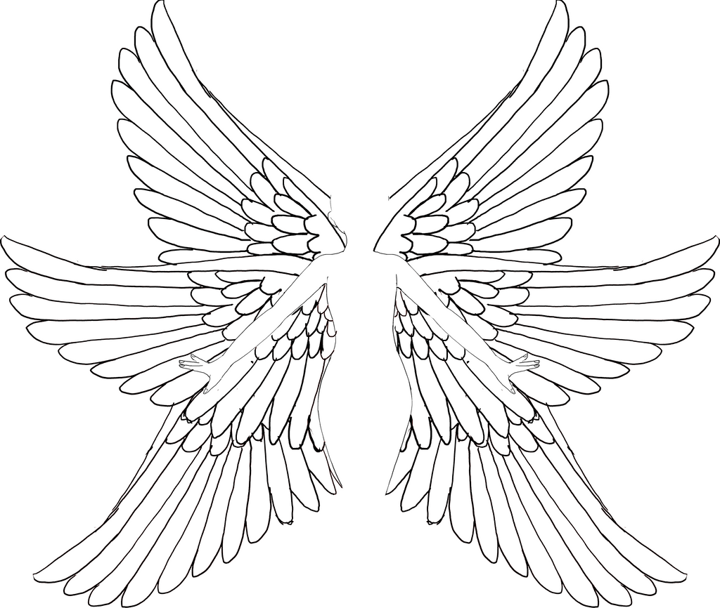 Seraph wings for angel base by Legendary-bases on DeviantArt