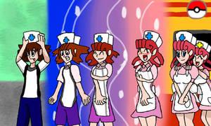 Happy happy nurse Joy TG by Klonoahedgehog