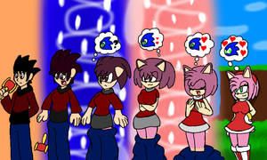 Sonic the hedgehog: Amy Rose TGTF by Klonoahedgehog