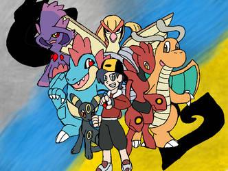 My Pokemon Soul Silver team by Klonoahedgehog