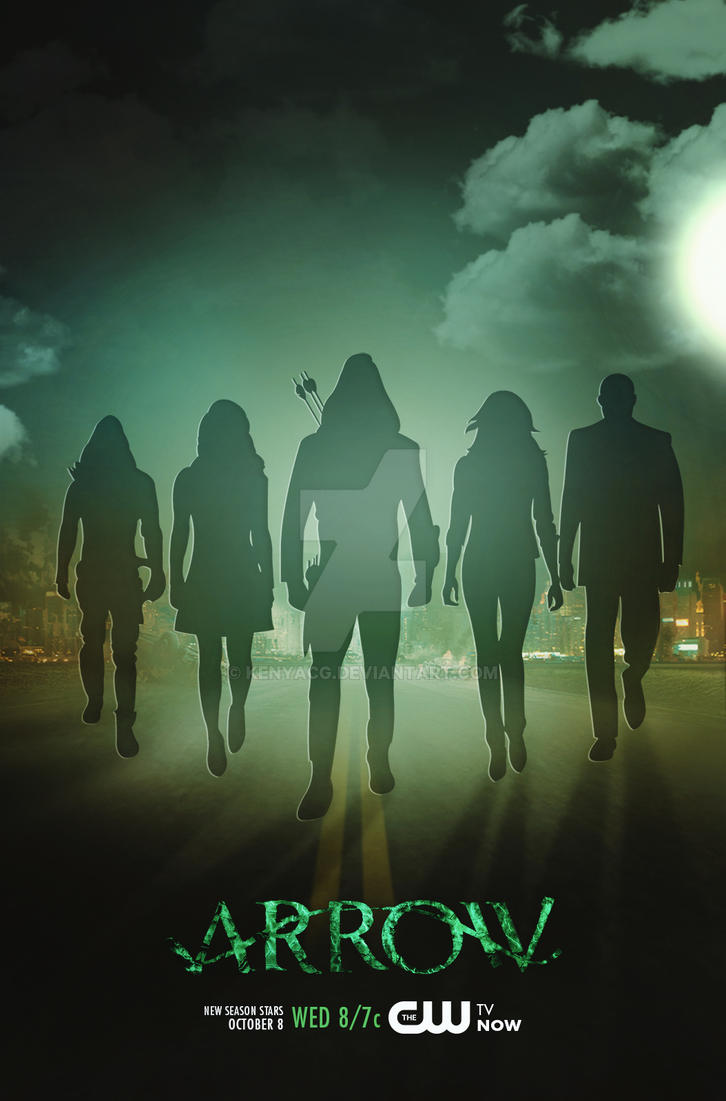 Arrow Poster by KenyaCG