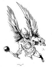 Hawkman by MichelaDaSacco