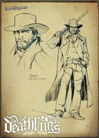 The Deathlings: the Cowboy by MichelaDaSacco