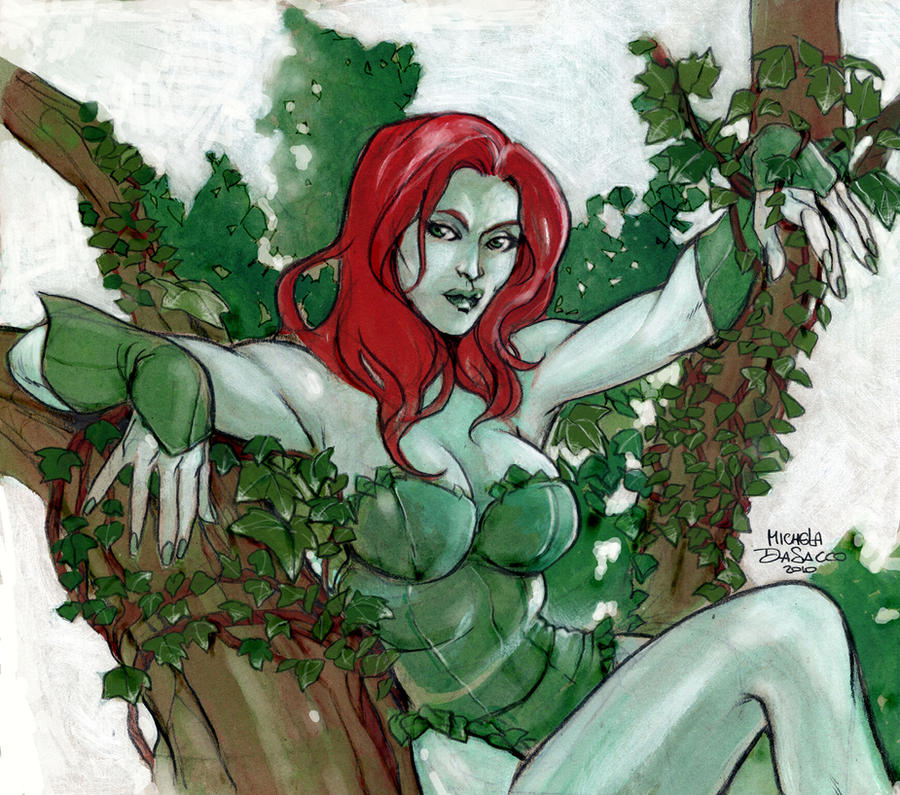Poison Ivy by MichelaDaSacco