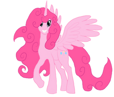 Pinkie Pie the alicorn by LazyHydra