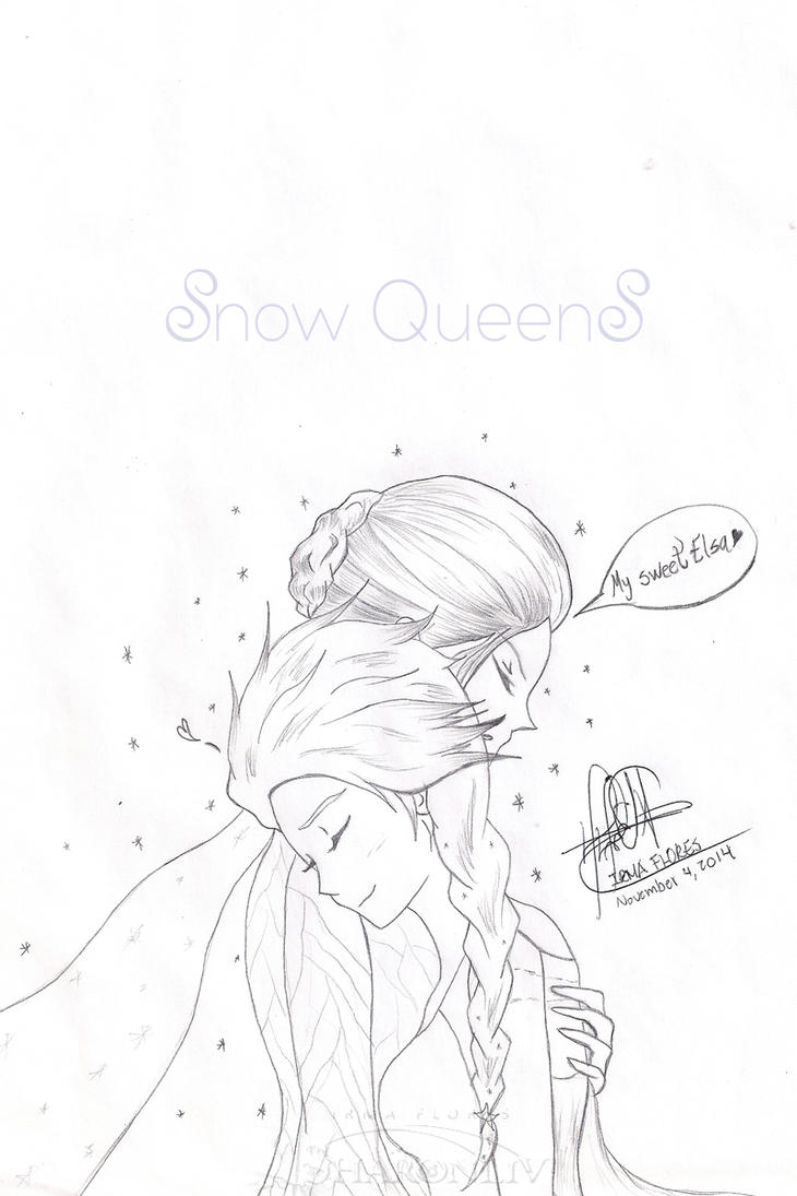 Snow Queens - OUAT by Sharonliv-Arzets