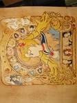 Sailor Moon zodiac - colored