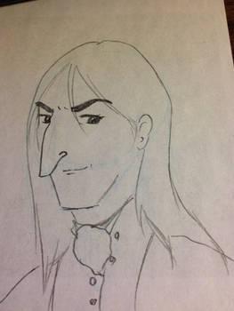 Snape Doodle 343