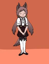 Wolf-Cookie [Ekuo's Requst] by Mr-Kuroon